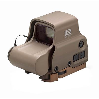 EOTech Holographic Sight, 65 MOA ring, (2) 1 MOA dots, QD lever, Tan EXPS3-2TAN