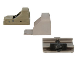 MRDS Tan 3.5 MOA Dot Tan 1913 Mount/Shroud MRD-000-A12