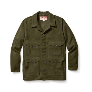 Filson Wool Mackinaw Cruiser Forest Green 10400
