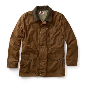 Filson Cover Cloth Mile Marker Coat Brown XL 10409