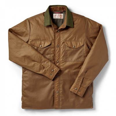 Filson Insulated Jac Shirt Dark Tan MD 10643