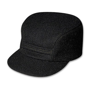 Filson 2XL Black Mackinaw Cap 60040