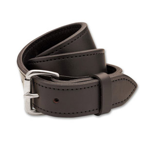 "Filson 28 Brown/Stainless 1.5"" Double Belt 63215198204"