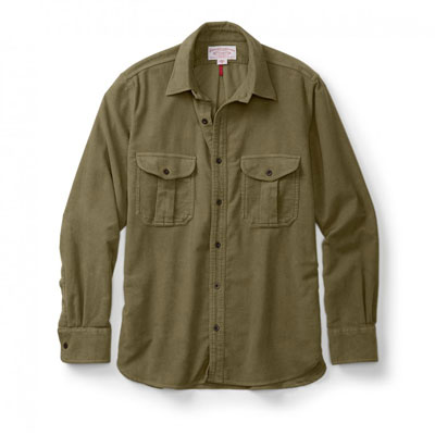 Filson Moleskin Seattle Shirt Lovat 10394