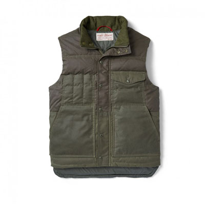 Filson Down Cruiser Vest Otter Green 10641