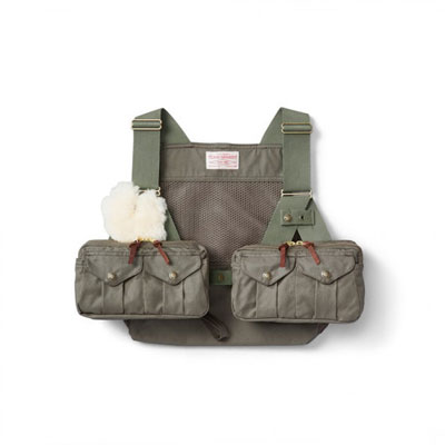 Filson Fly Fishing Strap Vest Otter Green Sup 10670
