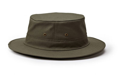 Filson Original Shelter Cloth Hat Otter Green SM 30161