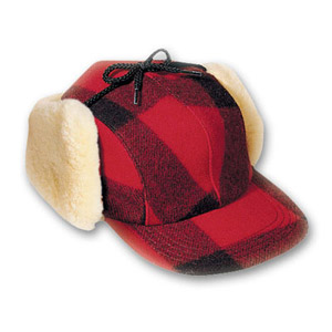 Filson XXS Red/Black Double Mackinaw Cap 60041