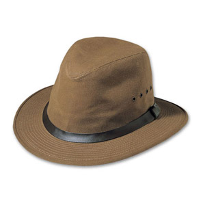 Filson SM Tan Tin Cloth Packer Hat 60015
