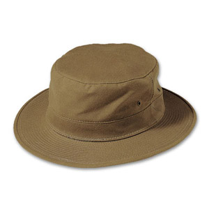 Filson SM Tan Original Tin Cloth Hat 60027