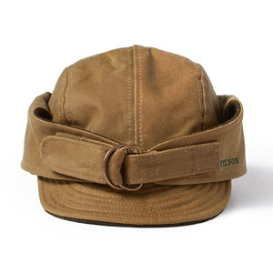 Filson SM Tan Tin Cloth Waterfowl Hat 60063