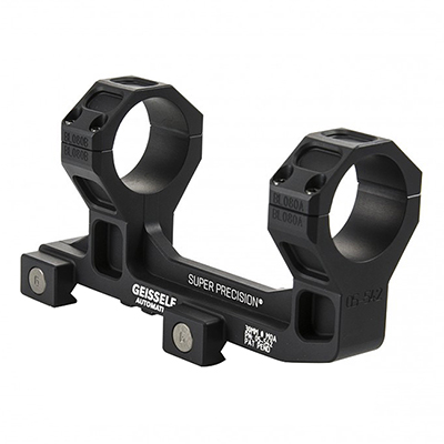 "Geissele Super Precision Scope Mount 30MM 1.93"" Black (Vortex 1-6), for AR-15 05-542B"