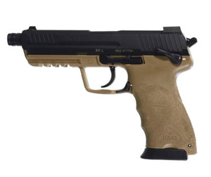 HK45 Officer .45 ACP Tan Pistol