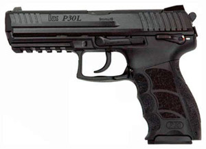 HK P30LS V3 DA/SA ambi safety 9x19  black with 2x 15 round magazines 223159 HK-M730903LS