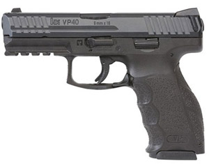 HK VP40 .40 Pistol 3 10rd Mags Night Sights 700040LEL-A5