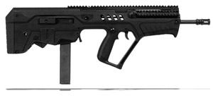 IWI Tavor Sar 9mm Black Flattop Rifle TSB17-9