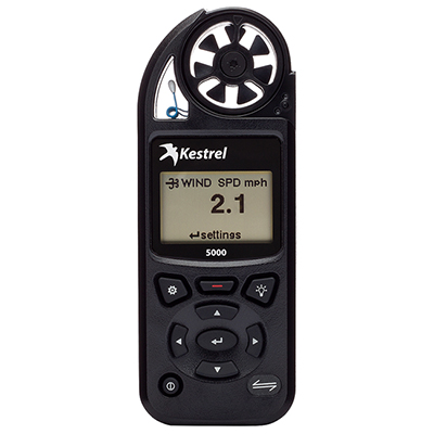 Kestrel 5000 Environmental Meter Black 0850BLK