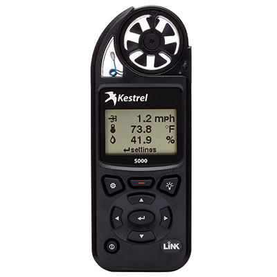 Kestrel 5000 Environmental Meter w/ LiNK Black 0850LBLK