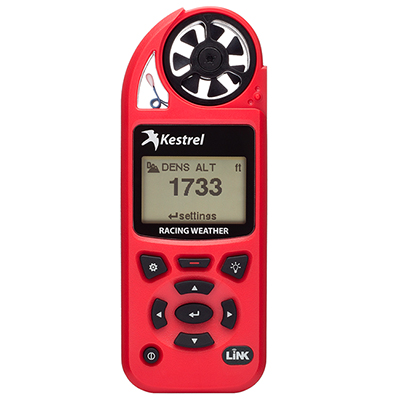 Kestrel 5100 Racing Weather Meter w/ LiNK Red 0851LRED