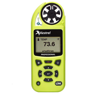 Kestrel 5200 Pro Environmental Meter w/ LiNK High Viz Green 0852LHVG