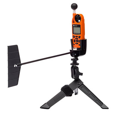 Kestrel 5400 Safety Orange Heat Stress Tracker & Vane Mount 0854VORA