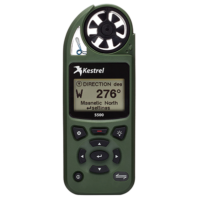 Kestrel 5500 Weather Meter Olive Drab 0855OLV