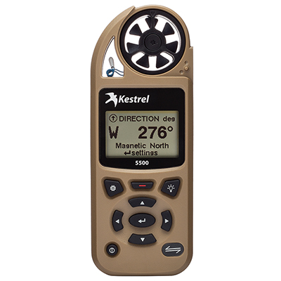 Kestrel 5500 Weather Meter Desert Tan 0855TAN