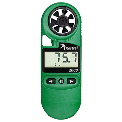 Kestrel 2000 Weather Meter Thermo Anemometer 0820
