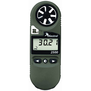 Kestrel 2500NV Weather Meter Digital Altimeter NV Backlight 0825NV
