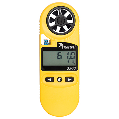 Kestrel 3500 Weather Meter Digital Psychrometer 0835
