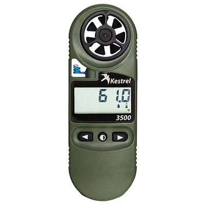 Kestrel 3500NV Weather Meter Digital Psychrometer 0835NV