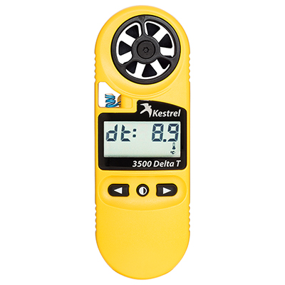 Kestrel 3500DT Weather Meter Digital Psychrometer 0835DT 0835D