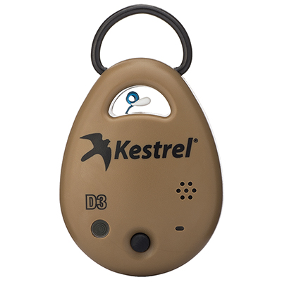 Kestrel DROP3 Tan Environment Data Logger 0730TAN