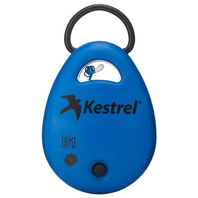 Kestrel DROP1 Blue Temp Data Logger 0710BLU