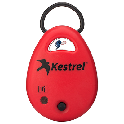 Kestrel DROP1 Red Temp Data Logger 0710RED