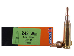 Lapua 100gr SP Rifle Ammunition LU4316056