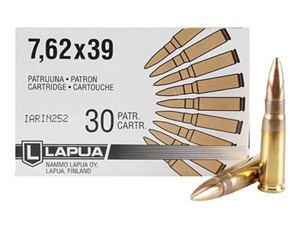 Lapua 123gr FMJ Rifle Ammunition LU4317235