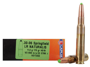 Lapua 170gr Naturalis-Solid LR Rifle Ammunition LUN317202