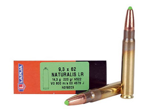 Lapua 220gr Naturalis-Solid LR Rifle Ammunition LUN319203