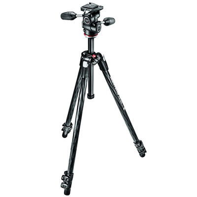 Manfrotto 290 Xtra Carbon 3-way Head MK290XTC3-3WUS