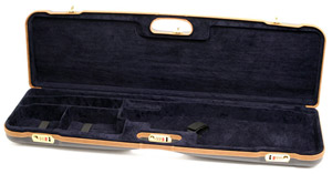 "Negrini One Shotgun 36"" Case Blue/Blue/Tan Trim 1657LX/5164"