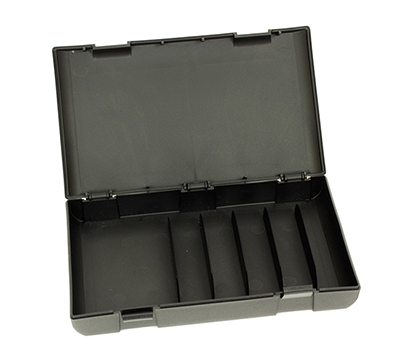 Negrini 5 Chokes & Wrench Case Black 5033-5