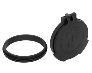 Nightforce Objective Flip-up lens caps for 56mm ATACR, Beast, NXS A284