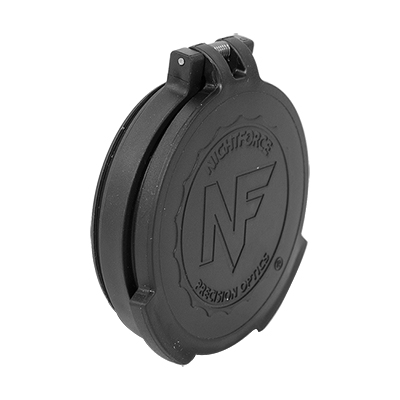 Nightforce Objective Flip-up lens caps - 56mm ATACR, Beast, NXS A468