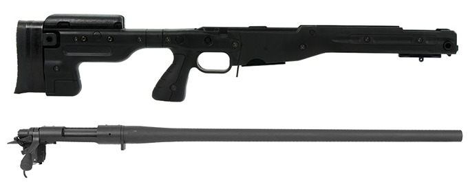 Remington 700P 5R 308 Win with Accuracy International AT Black Fixed Chassis