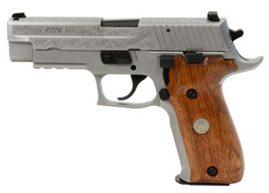 Sig Sauer P226 Stainless Engraved 9mm Pistol E26R-9-SSS-ESM