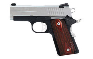 Ultra, 2-Tone Finish, Low Profile Night Sights, 3 Hole Trigger, Blackwood Grips 1911U-45-TSS