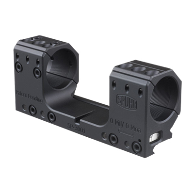 Spuhr Unimounts 30 mm, Height: 30 mm/1 .18? Length: 126 mm/4.96? 0 MIL/0 MOA SP-3001