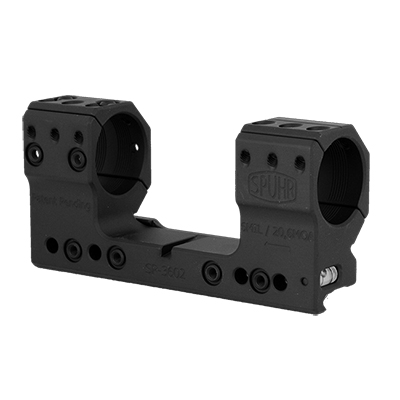Spuhr Unimounts 30 mm, Height: 38 mm/1,5?, Length: 126 mm/4,96? 6 MIL/ 20 MOA SP-3602