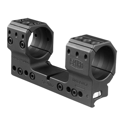 Spuhr Unimounts 34 mm, Height: 37 mm/1.46?, Length: 121 mm/4.76? 0 MIL/0 MOA SP-4002